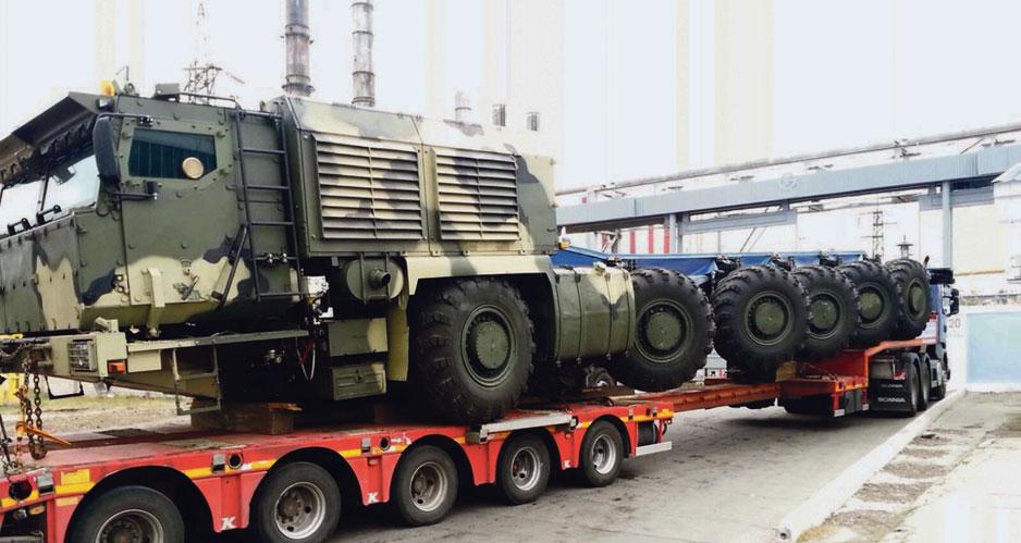 Шасси «КАМАЗ-78509».