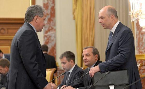 Сергей Шойгу и Антон Силуанов