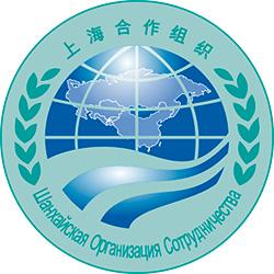 Эмблема Шанхайской организации сотрудничества (ШОС).