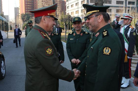 С. Шойгу и Хосейн Дехган
