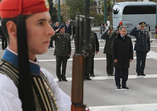 Визит Министра обороны России генерала армии Сергея Шойгу в Греческую Республику.
