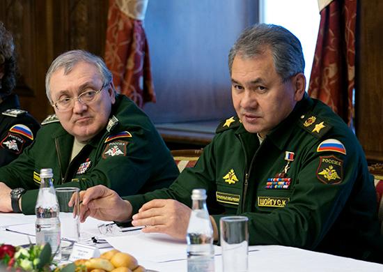 Сергей Шойгу и Руслан Цаликов