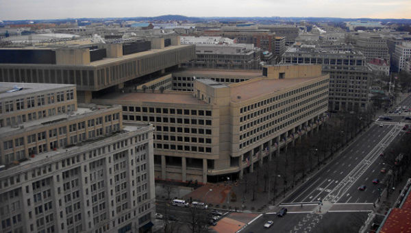 Штаб-квартира ФБР (здание Э. Гувера). Вашингтон, США. Архивное фото