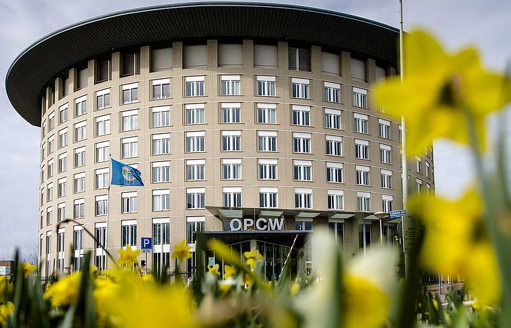Штаб-квартира Организации по запрещению химического оружия в Гааге.
