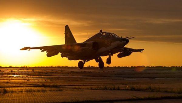 Штурмовик Су-25СМ3. Архивное фото