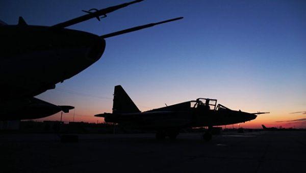 Штурмовики Су-25 ВКС России