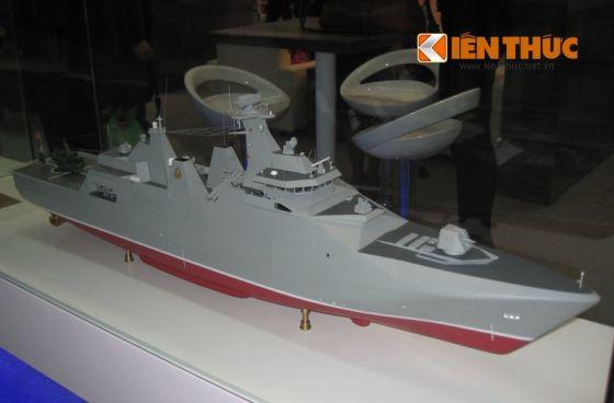 Модель корвета проекта SIGMA 9814