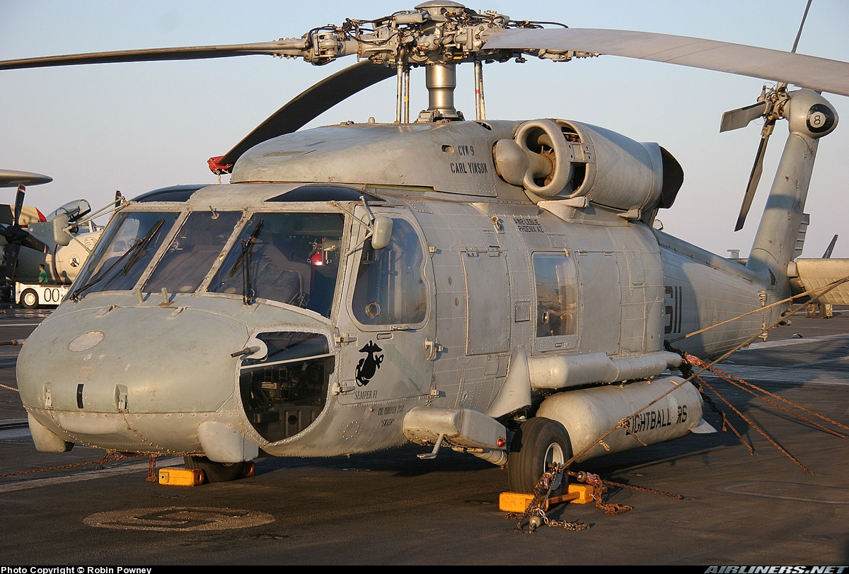 Sikorsky SH-60F. Источник: airliners.net.