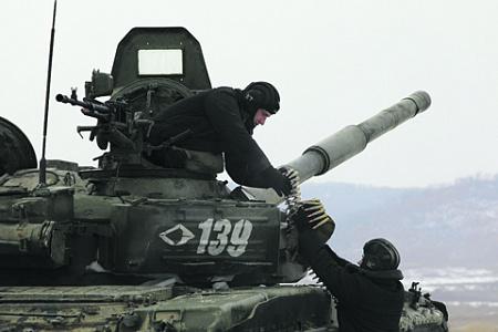 Силы Восточного военного округа обеспечивают безопасность дальневосточных рубежей России. Фото с сайта www.mil.ru