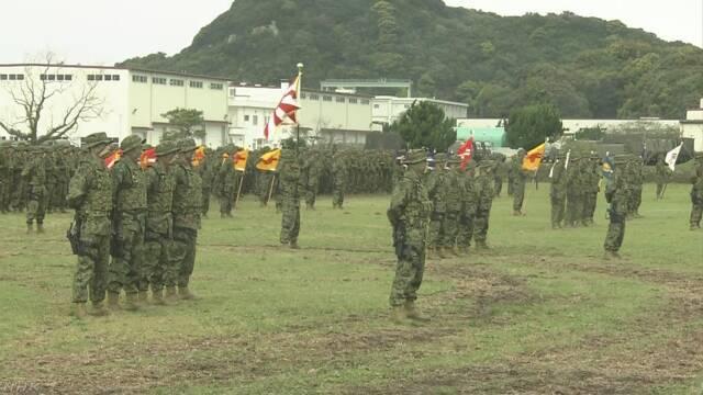 Бригада быстрого размещения амфибийных сил в сухопутных войсках Сил самообороны Японии.