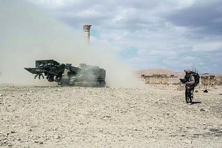 Сирия стала главным полигоном для испытания инновационных образцов перспективного российского оружия. Фото со страницы Министерства обороны РФ в «ВКонтакте»