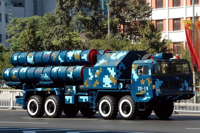 Китайский зенитно-ракетный комплекс дальнего действия HQ-9 (FD-2000).