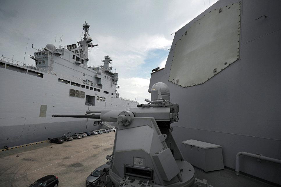 """Система """"Иджис"""" (Combat System Aegis) на борту военного корабля США."""