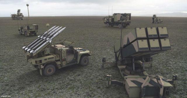 Система ПВО NASAMS.
