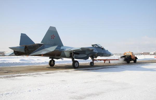 Перспективный авиационный комплекс фронтовой авиации (ПАК ФА) Т-50