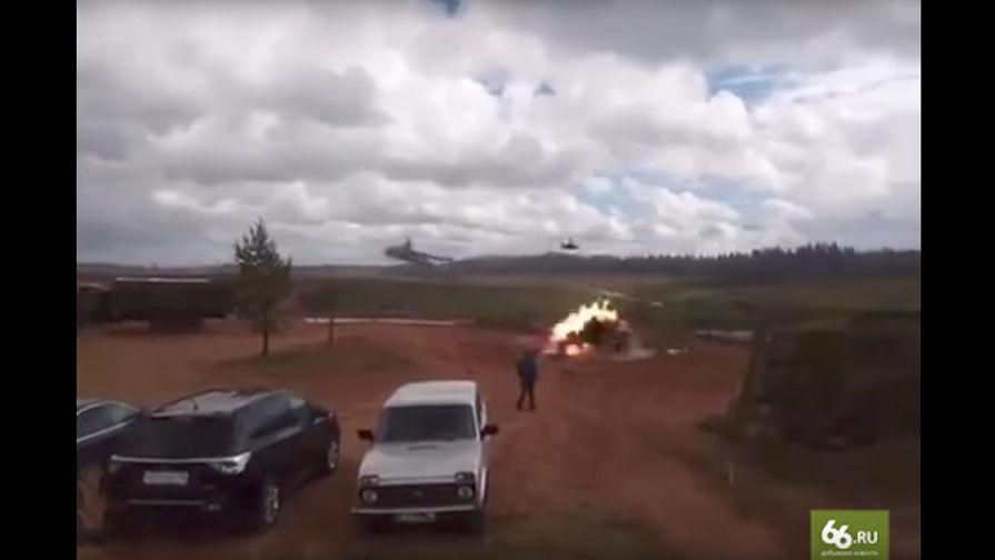 Инцидент с ракетой, случайно выпущенной вертолетом Ка-52.