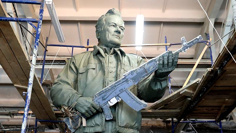 Скульптура М.Т. Калашникова.