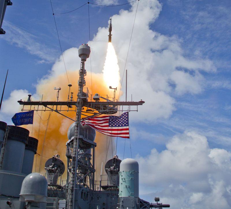 Пуск ракеты Standard Missile-3 Block IIA 6 июня 2015 год.