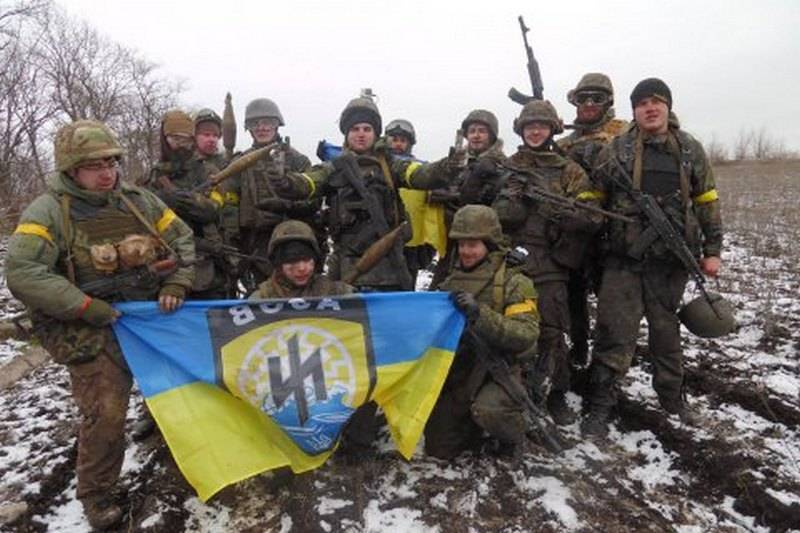 "Украинский полк Нацгвардии ""Азов""."