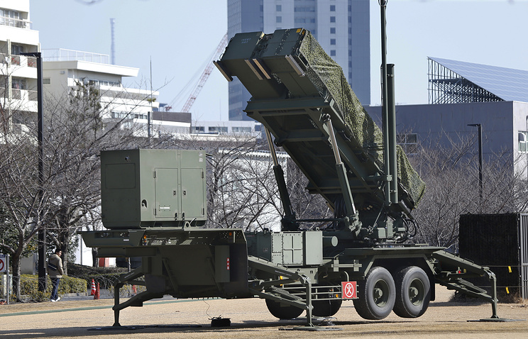 Комплекс ПРО Patriot PAC-3 в Японии.