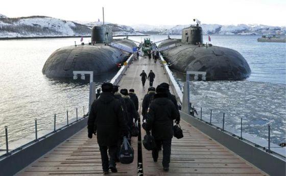 АПЛ «Смоленск» и «Воронеж»