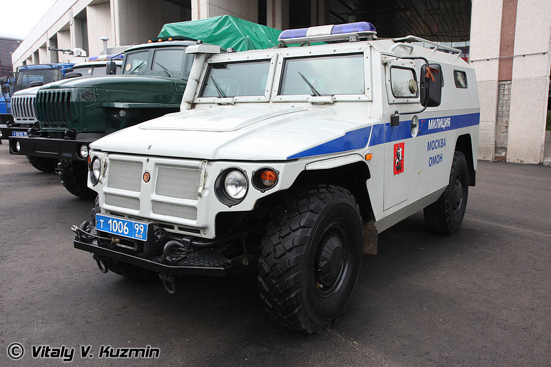 Специальная полицейская машина СПМ-2<br>Источник: http://www.flamber.ru/