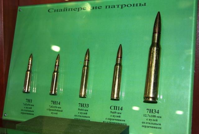 Снайперские патроны разработки ЦНИИТОЧМАШ