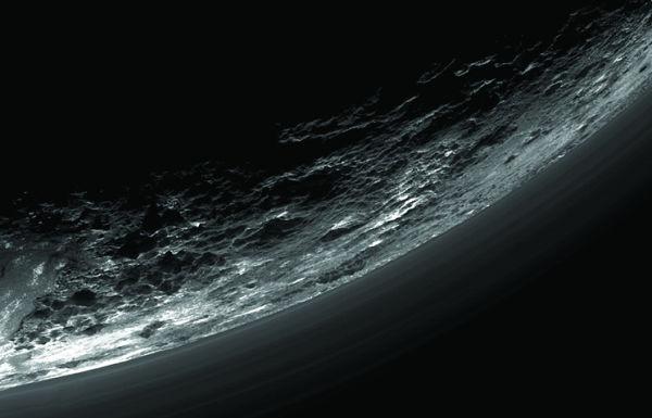 Снимок Плутона, полученный станцией New Horizons