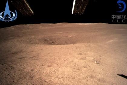 Снимок поверхности Луны