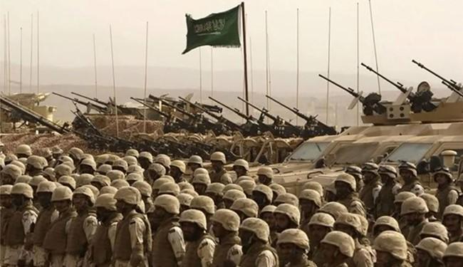 Солдаты и боевая техника армии Саудовской Аравии.
