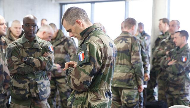 Солдаты НАТО в Эстонии. Архивное фото.