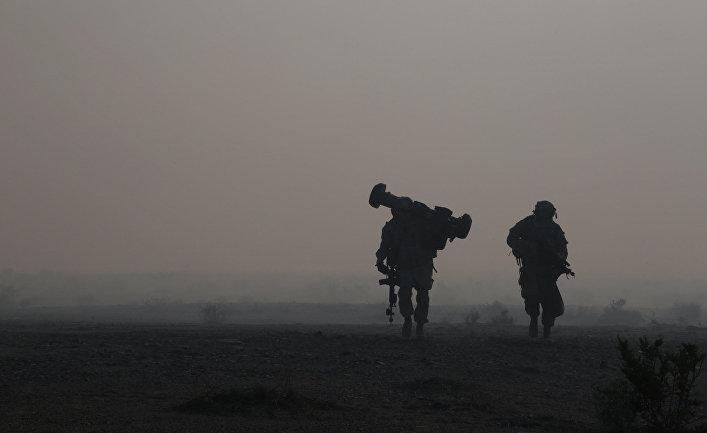 Солдаты пехотной бригады США.
