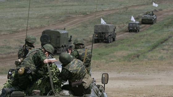 Учения Северо-Кавказского военного округа