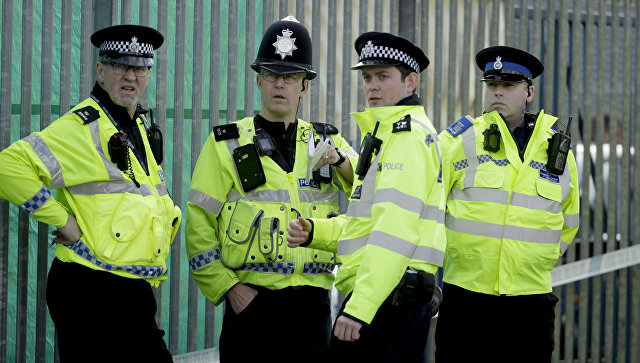 Сотрудники британской полиции в Солсбери, Великобритания. 13 марта 2018.