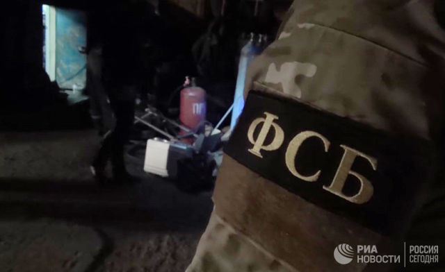 Сотрудники ФСБ. Архивное фото