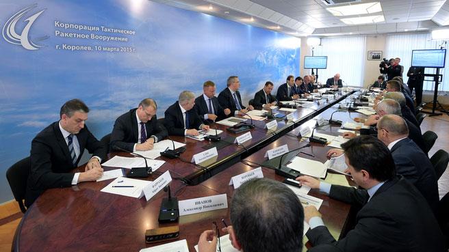Совещание у Председателя Правительства РФ Дмитрия Медведева.