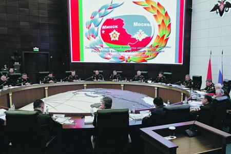 Совещание военных двух стран на высшем уровне. Фото с официального сайта Министерства обороны РФ