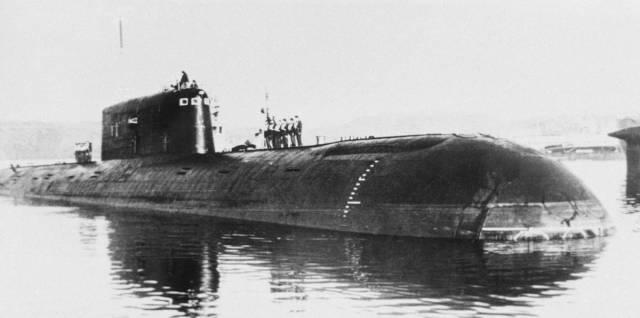 """Советская атомная подлодка К‑278 """"Комсомолец"""""""