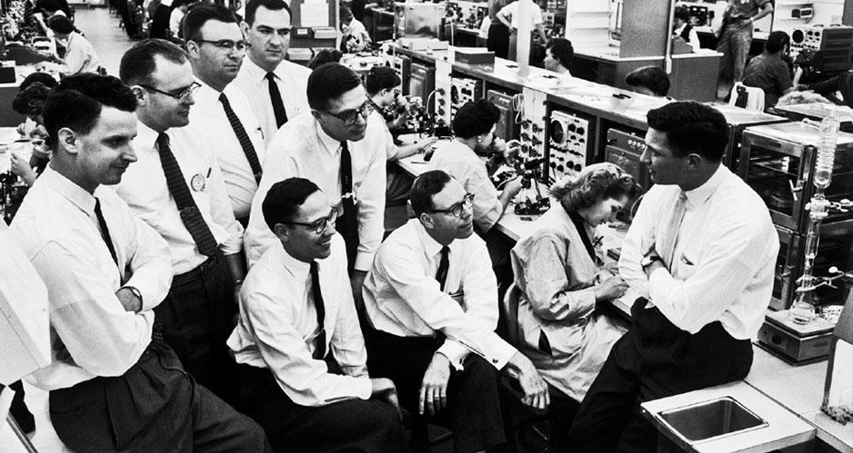 Советский спутник ускорил создание микросхем