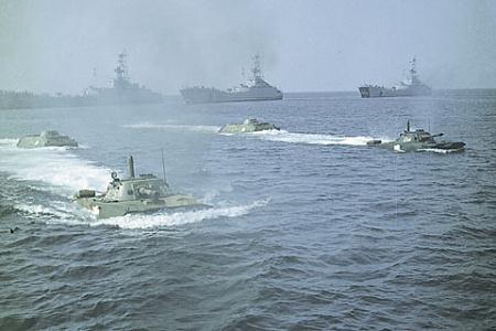 Советский Военно-морской флот обеспечивал паритет с флотами США и НАТО. Фото © РИА Новости