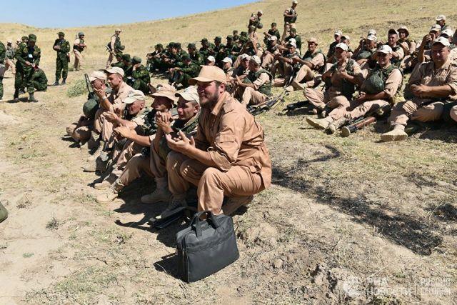 Совместные учения 201-й российской военной базы и военных сил Таджикистана. Архивное фото