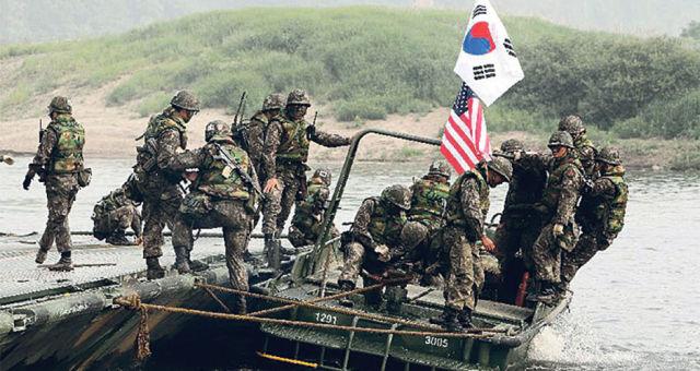Совместные учения США и Южной Кореи