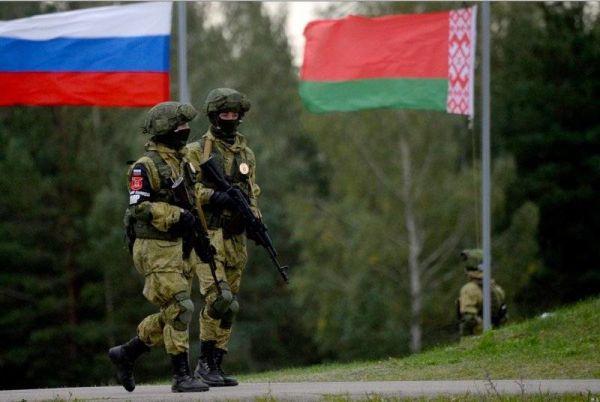 Совместные учения ВС России и Белоруссии
