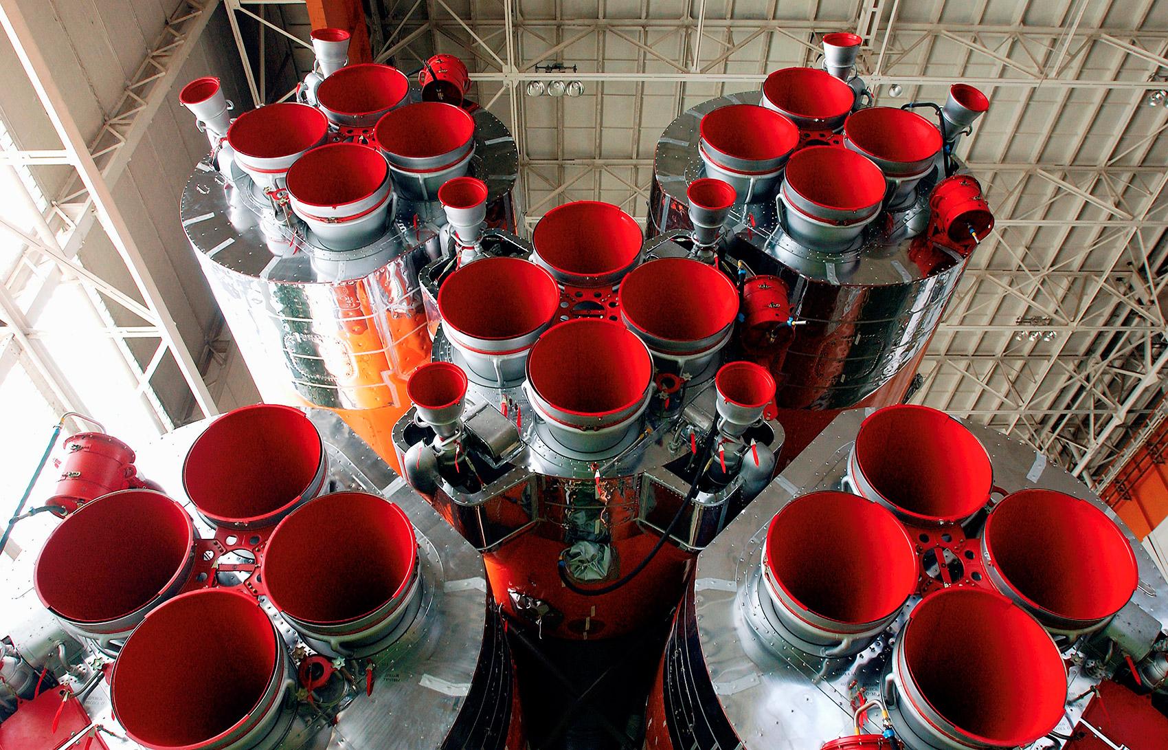 США наносят удар по российским ракетным двигателям