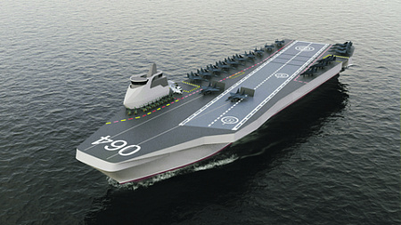 Создание собственных универсальных кораблей стало следствием срыва покупки французских «Мистралей». Иллюстрация АО «Невское ПКБ»
