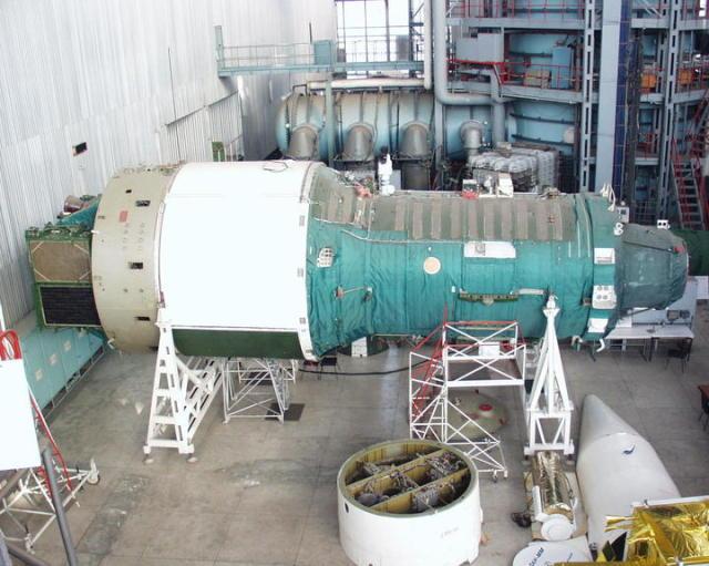ОПС «Алмаз» в демонстрационном зале ракетной и ракетно-космической техники АО «ВПК «НПО машиностроения».