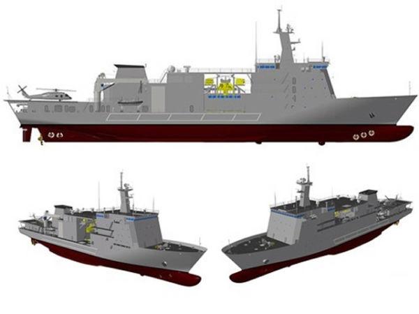 Спасательные суда проекта ASR-II