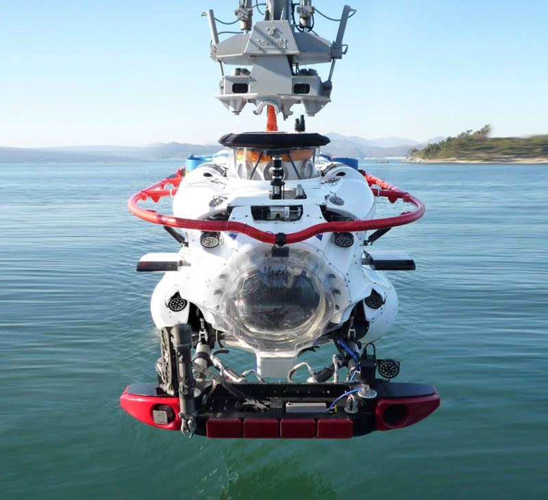 Спасательный глубоководный аппарат DSAR производства британской компании James Fischer Defence.