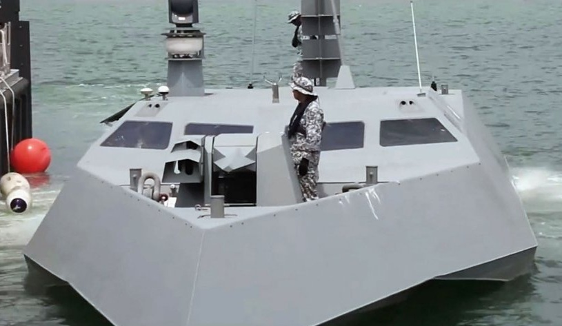 Сингапурский катер специального назначения Specialised Marine Craft (SMC).