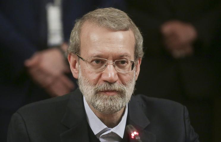 Спикер меджлиса Ирана Али Лариджани.